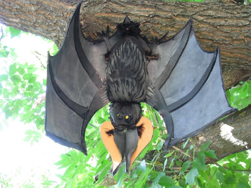 Летучая мышь поделка своими руками 150